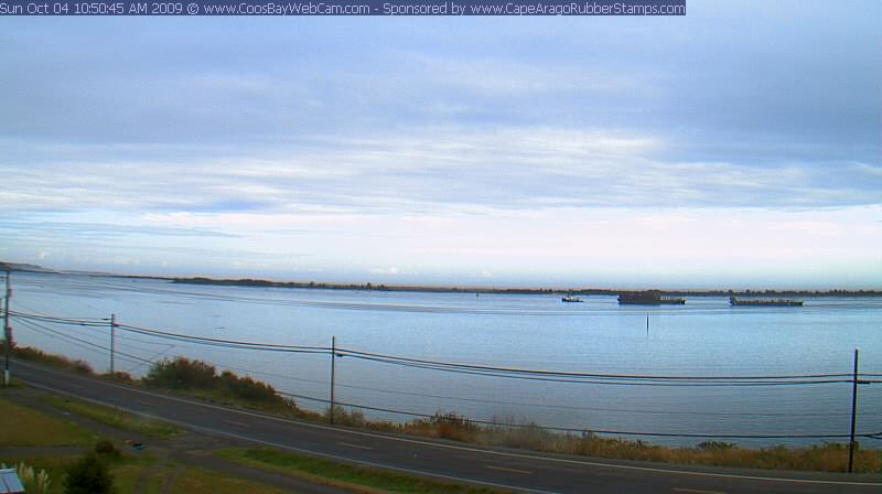Coos Bay, Oregon on October 4, 2009