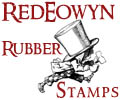 Red Eowyn Unmounted Rubber Stamps